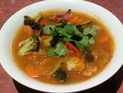 Olya's Tom Yum Soup